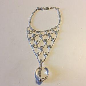 Avon belly dancer bracelet attached ring